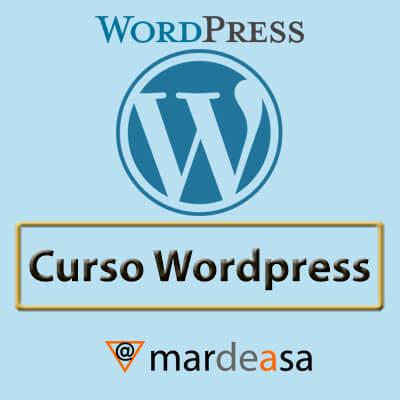 Wordpress-Confección y publicación de páginas web